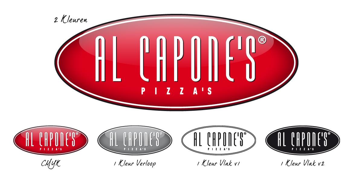 Al Capone's Pizza's: Logo