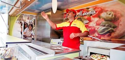 Al Capone's Pizza's: Marktwagen