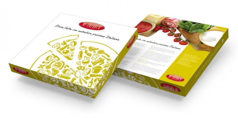 Al Capone's Pizza's: Verpakkingslijn
