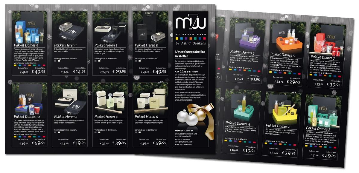 My7Ways: Folder Kerstpakketten 2013