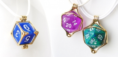 Tiny Tokens: Dice Pendants