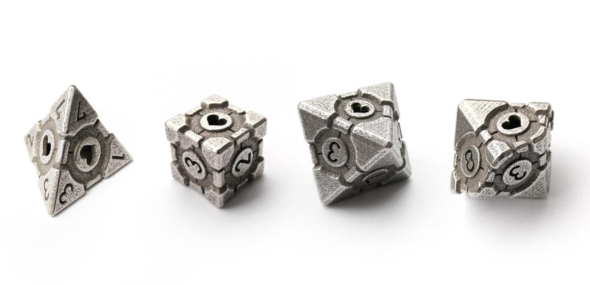 Tiny Tokens: Portal Companion Cube Dice