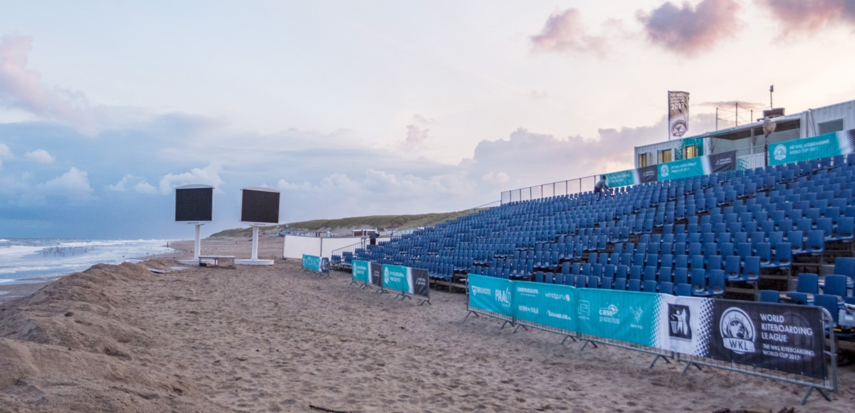 World Kiteboarding League: Event Site