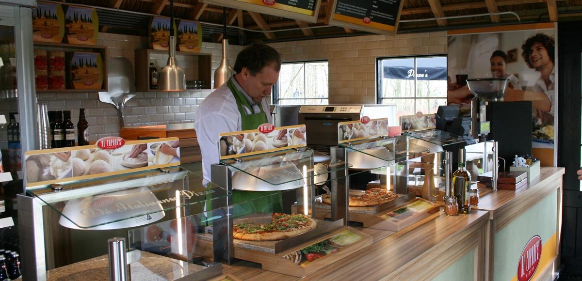 Al Capone's Pizza's: Restaurant Keukenhof