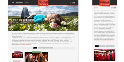Reünieplanners: Website