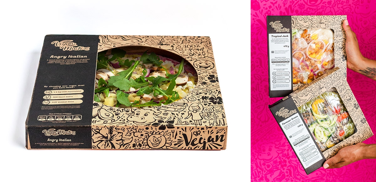 Vegan Masters: verpakkingslijn